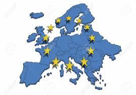 European Union Map 14 559 European Union Map Stock Vector Illustration And Royalty