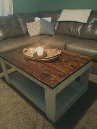 Pallet Coffee Tables Smaller Version Of Our Rustic X End Tables House Stuff
