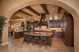 Tuscan Interior Design Charming Tuscan Kitchen Interior Design With A Marble Topped