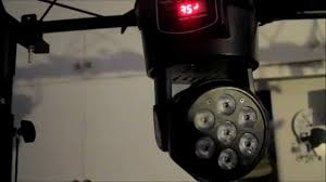 Cheap Moving Head Lights Mini Led Moving Head Wash Review 7 X 10w Rgbw Cree Led Youtube
