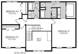 1 story floor plans 10 1 story open floor plans small country ranch style