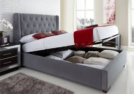 beds inspiring upholstered king bed with storage storage bed with