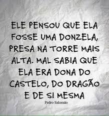 si e de ela era dona do castelo do dragão e de si mesma mensagens