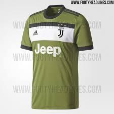Baju Adidas Juventus juventus 17 18 third kit released footy headlines