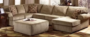 U Shaped Sectional Sofa Ottoman Ideas House Plan Plus Ottoman U For U Shaped