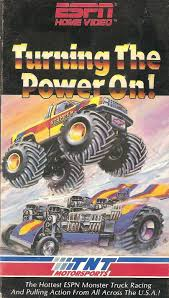 monster trucks racing amazon com turning the power on vhs tnt monster trucks movies