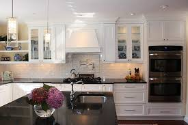 black backsplash in kitchen grey wood laminate countertops white kitchen backsplash ideas black
