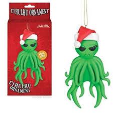 amazon com cthulhu christmas tree ornament h p lovecraft xmas