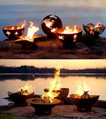 Fire Pit Globe by Global Domination Step 1b Order Flaming Globe From