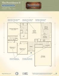 leave it to beaver house floor plan providence ii wayne homes
