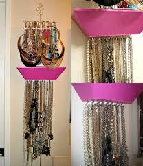 make necklace holder images Diy jewelry necklace holder jpg