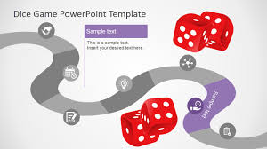 game design template board game powerpoint template slidemodel