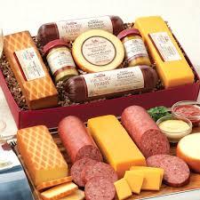 hillshire farms gift basket summer sausage gift baskets venison cheese johnsonville