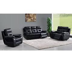 canapé relaxant canapé relax deux places edgar cuir noir canapés but