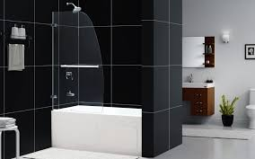 58 Inch Whirlpool Bathtub Dreamline Aqua Uno 34x 58 Inch Single Panel Hinged Bathtub Door