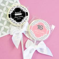 sweet 16 favor ideas sweet 16 party favors gift gallery post