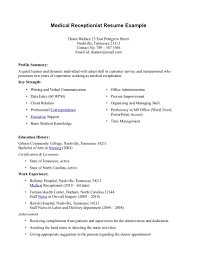 Medical Interpreter Resume Medical Assistant Objective For A Resume Free Resume Example And