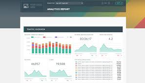 website traffic report template create better analytics client report template dashthis
