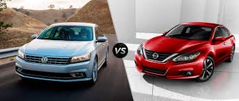 nissan altima or honda accord 2016 volkswagen passat vs 2016 nissan altima