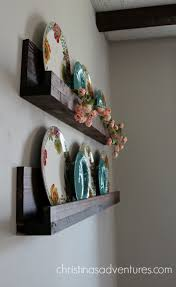 Wooden Shelf Making by Simple Diy Ledge Shelf Tutorial Christinas Adventures