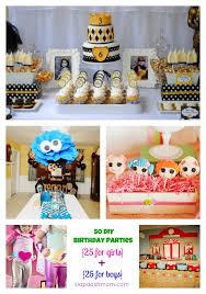 50 birthday party ideas 50 birthday party ideas 25 for 25 for boys