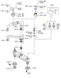 fixing a leaky kitchen faucet unique glacier bay single handle kitchen faucet repair kit