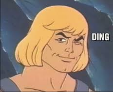 Wink Face Meme - he man wink ding masters of the universe know your meme