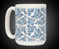 flowering coffee mug dudeiwantthat com