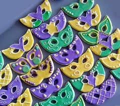 mardi gras cookie cutters mardi gras decorated sugar cookies royal icing yellow gold