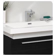 Fresca Medicine Cabinet Buy Fresca Fresca Medio Black Modern Bathroom Vanity W Medicine