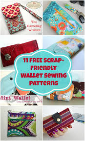 free wallet sewing patterns to wallet sewing pattern