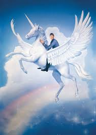 spock riding a unicorn pegasus tor com