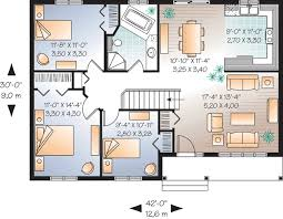 floor plans for 3 bedroom ranch homes 3 bedroom ranch home plan 21605dr architectural designs