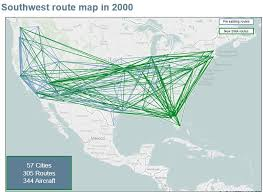 swa route map southwest spreads the with routes americas route