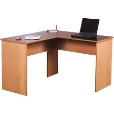 Walmart Furniture Computer Desk L Shaped Desk Black Stylish And Oak Walmart Intended For