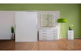 Torino Bedroom Furniture Torino Bedroom Furniture Range In White Gloss U0026 White Oak