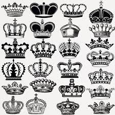 crown clip art crown silhouette clip art digital crowns clip