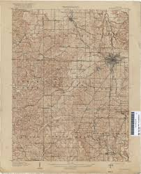 Map Indiana Indiana Historical Topographic Maps Perry Castañeda Map