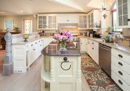 narrow kitchen with island narrow kitchen island kitchen rustic with beadboard cabinets