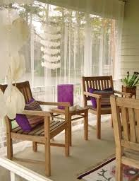 Mosquito Curtains For Porch Mosquito Curtains Outdoor Bathing Area With Wooden Tub And