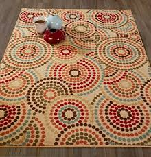 Area Rugs With Circles Amazon Com Diagona Designs Contemporary Circles Design Modern Non