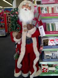 Life Size Santa Claus Decoration Life Size Santa Saw This 5 Foot Santa Statue For Sale At C U2026 Flickr