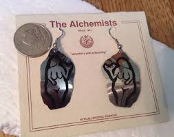 s hypoallergenic earrings alchemists loop earrings hypoallergenic jewelry venus of laussel