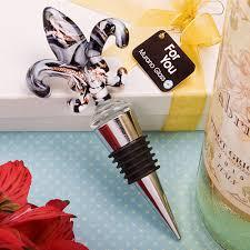 wine stopper wedding favors murano fleur de lis wine stopper wedding favors