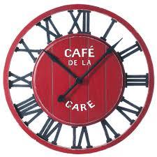 pendule originale pour cuisine horloge murale cuisine amazing 2017 avec horloge murale