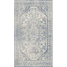 Navy Blue And Beige Area Rugs by White Area Rugs Fallon Rectangle Light Graywhite Area Rug Area