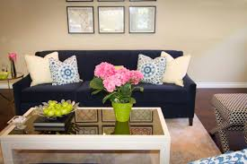 Living Room Couch by Navy Sofa Living Room Alice Lane Home Collection Living Room With