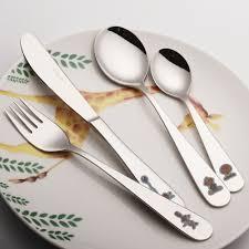 children cutlery set 18 10 stainless steel dinner set knife fork
