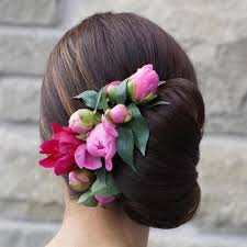 flower hair bun side updos that are in trend 40 best bun hairstyles for 2017