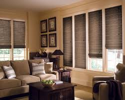 provenance woven wood shades with cordlock living room